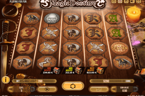 MAGIC DESTINY FUGASO CASINO SLOTS