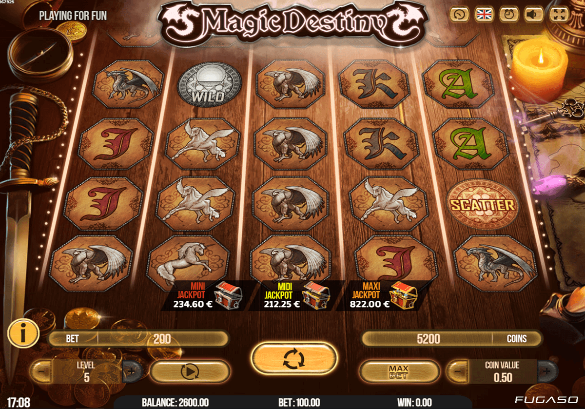 Magic Destiny Slot - Free to Play Online Demo Game
