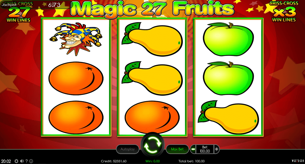 Magic Fruits 27 Slot Machine - Play Free Casino Slot Games