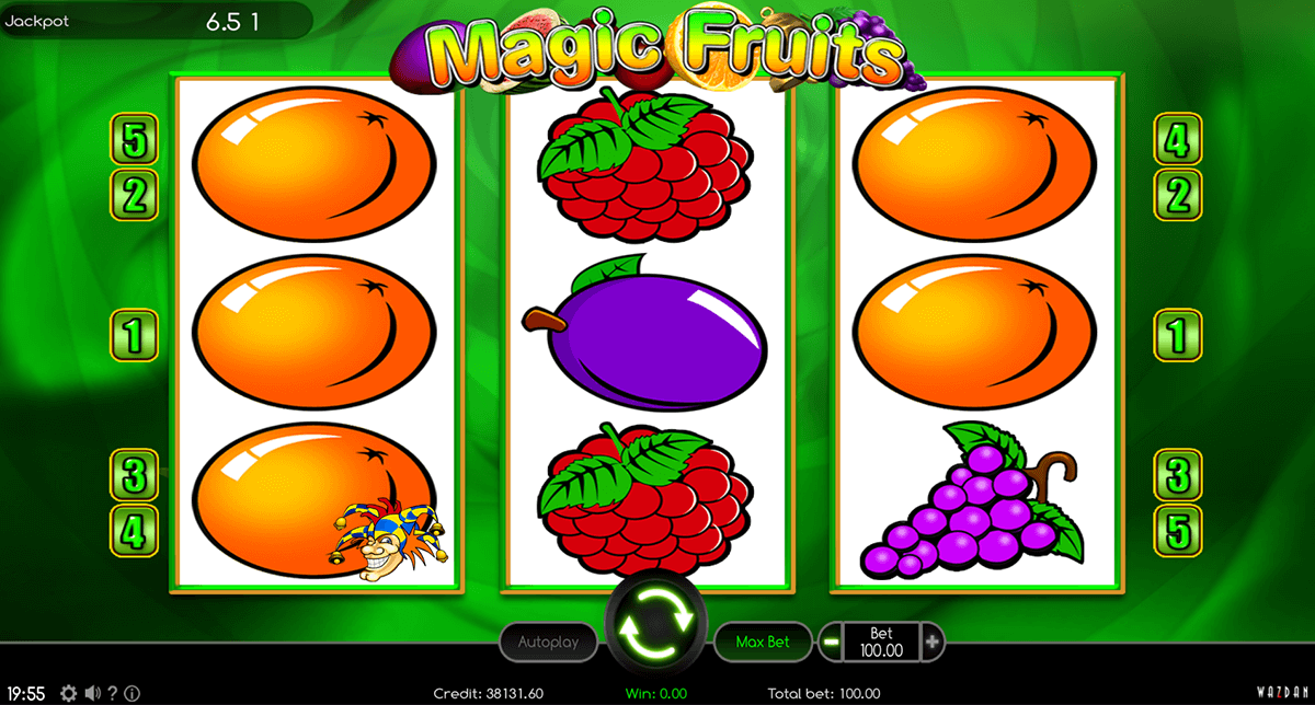 Magic Fruits Slot Review & Free Instant Play Game
