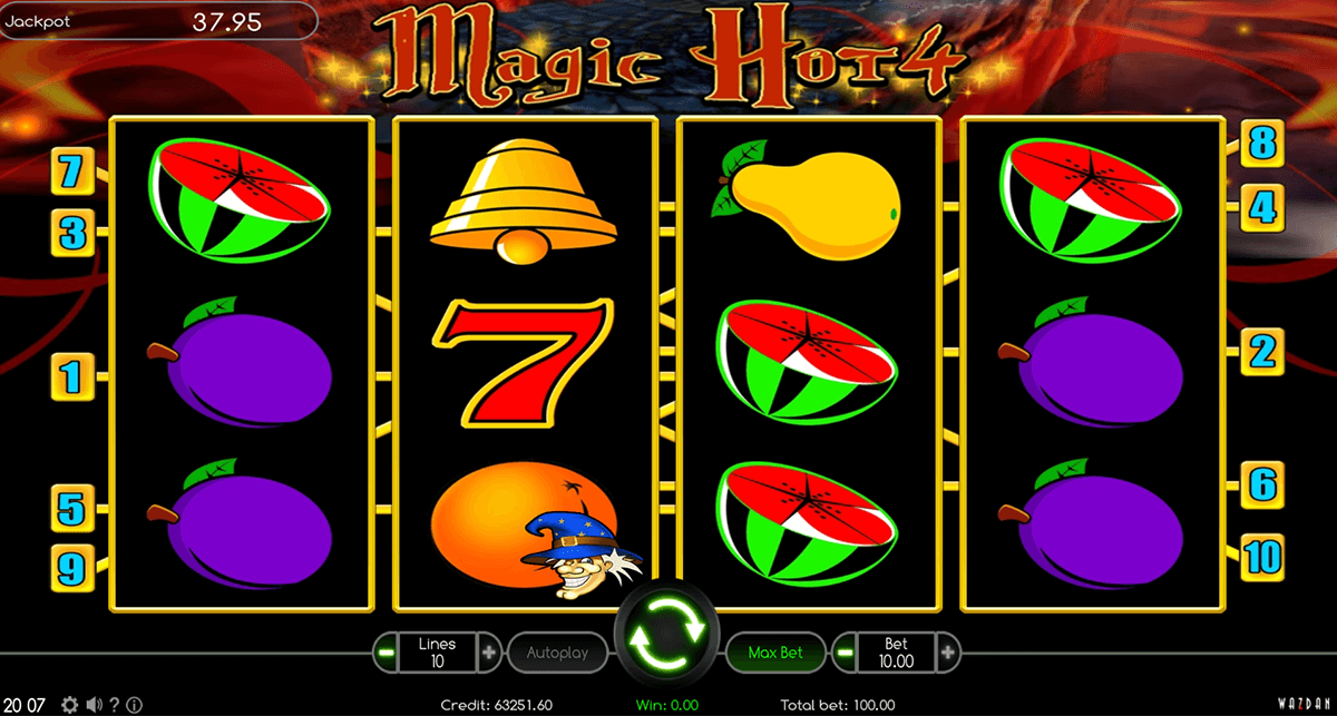 Magic Hot 4 Slots - Play Penny Slot Machines Online