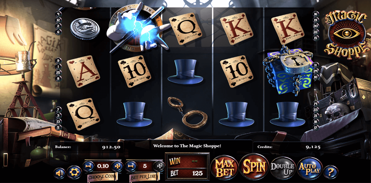MAGIC SHOPPE BETSOFT CASINO SLOTS