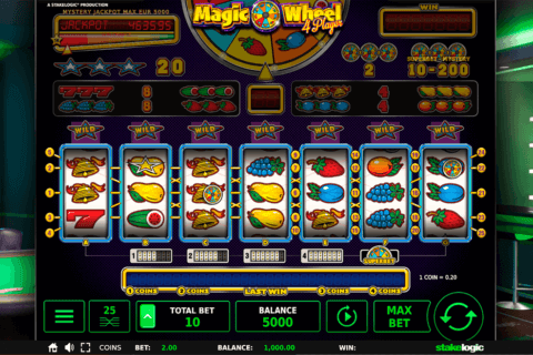 MAGIC WHEEL 4 PLAYER STAKE LOGIC CASINO SLOTS