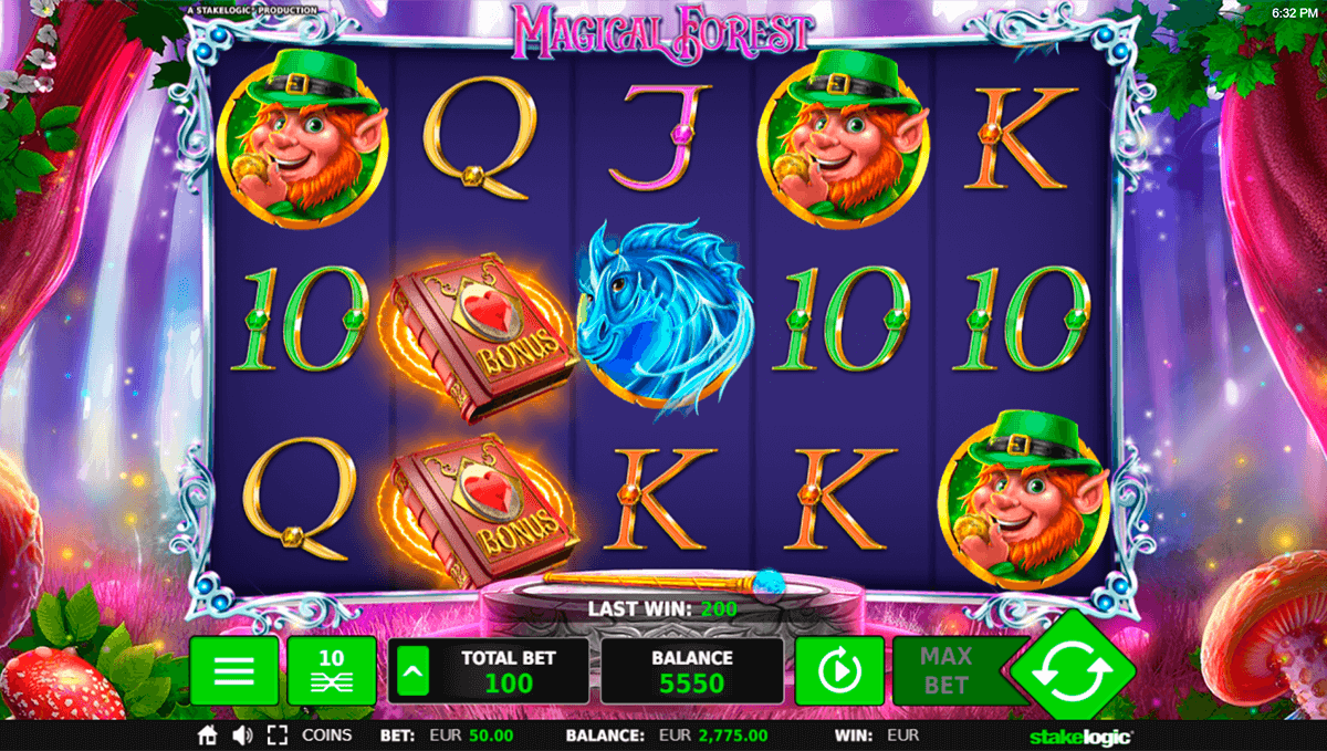 magical forest stake logic casino slots
