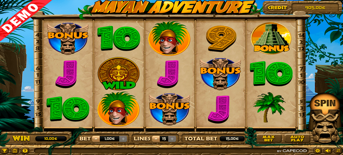 mayan adventure capecod gaming casino slots