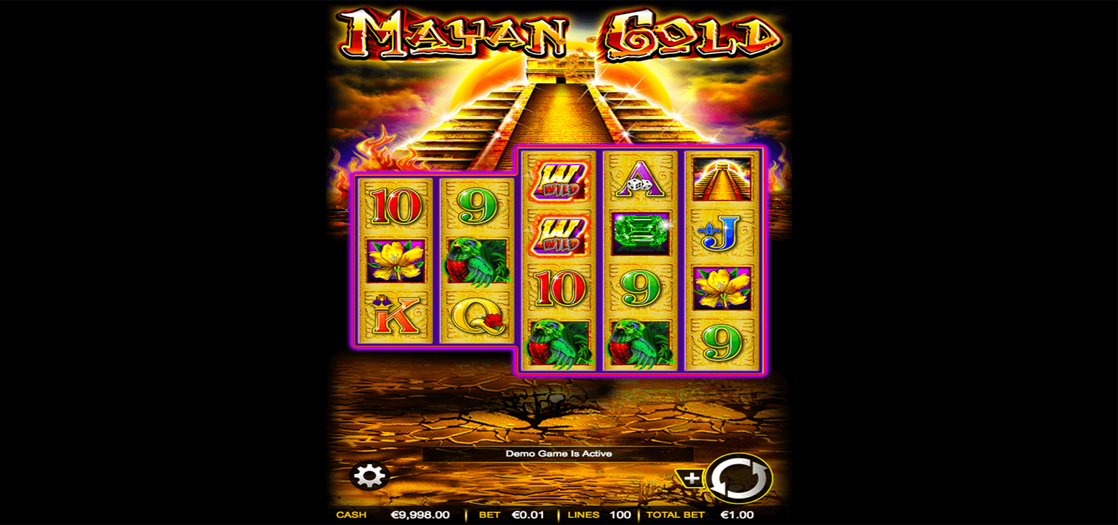 MAYAN GOLD AINSWORTH CASINO SLOTS
