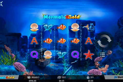 mermaid gold mrslotty casino slots 480x320