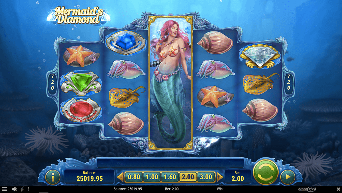 mermaids diamond playn go casino slots