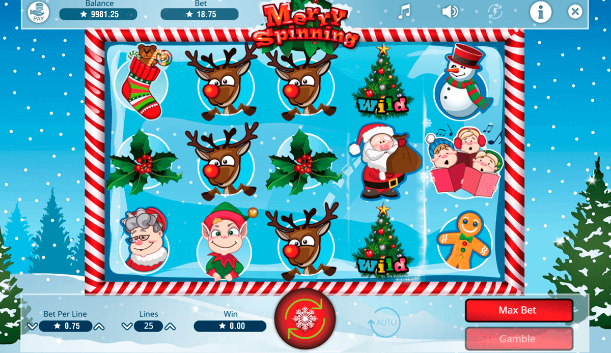 MERRY SPINNING BOOMING GAMES CASINO SLOTS
