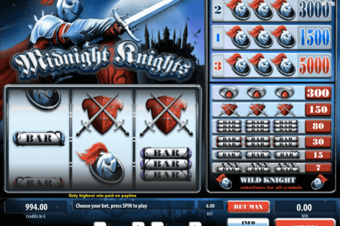 midnight knights tom horn casino slots
