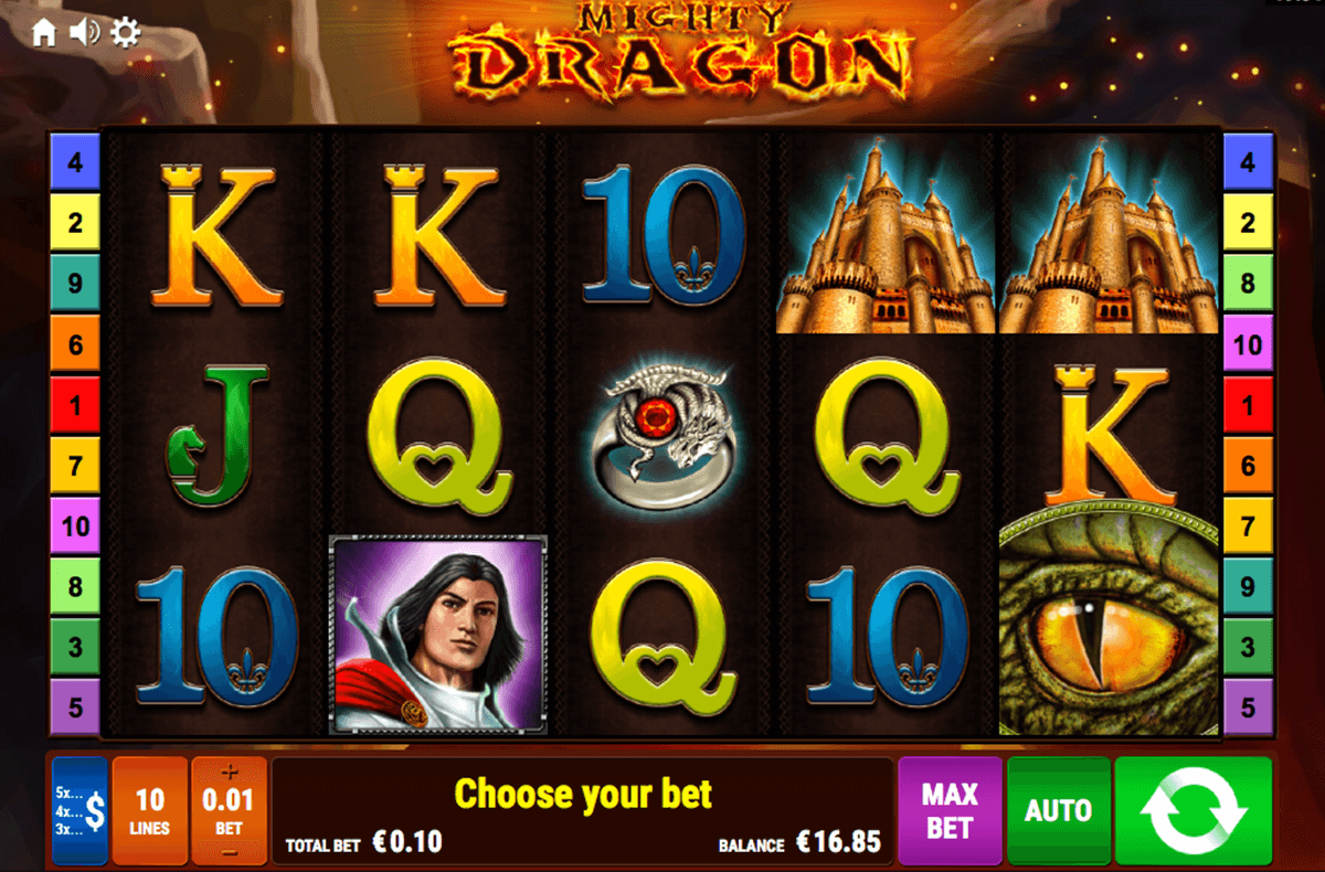 MIGHTY DRAGON BALLY WULFF CASINO SLOTS