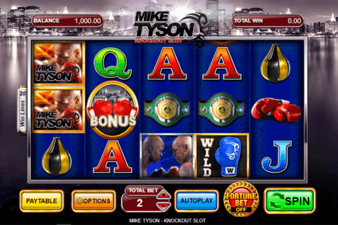 MIKE TYSON INSPIRED GAMING CASINO SLOTS