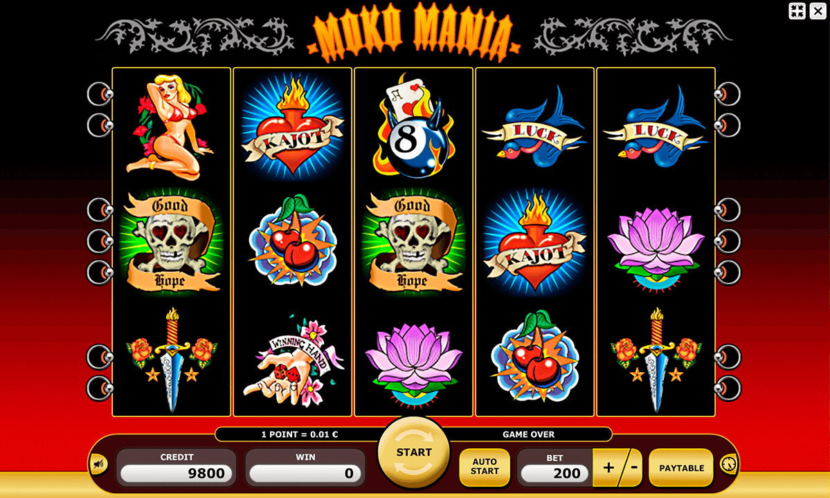 Tattoo Mania Slot - Play Online & Win Real Money