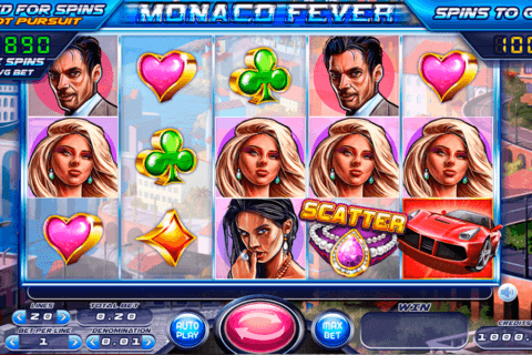 MONACO FEVER FELIX GAMING CASINO SLOTS