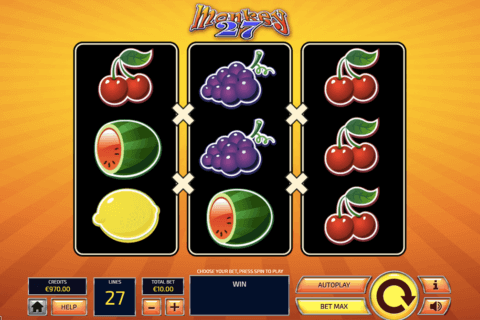 MONKEY 27 TOM HORN CASINO SLOTS