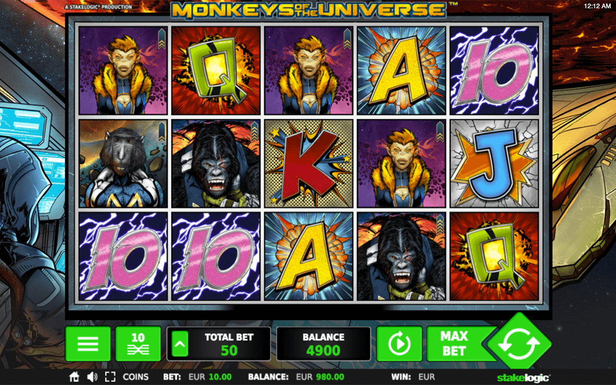 Monkeys of the Universe Slot Machine Online ᐈ Stake Logic™ Casino Slots