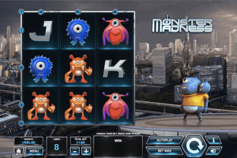 monster madness tom horn casino slots