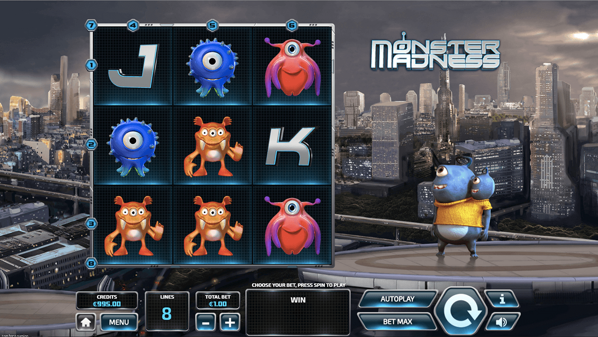 Monster Madness Slot - Play Tom Horn Gaming Slots for Free