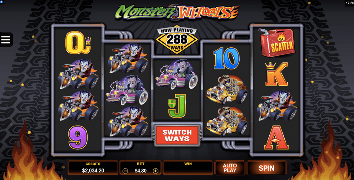 Monster Tunnel Slot - Play Real Casino Slots Online