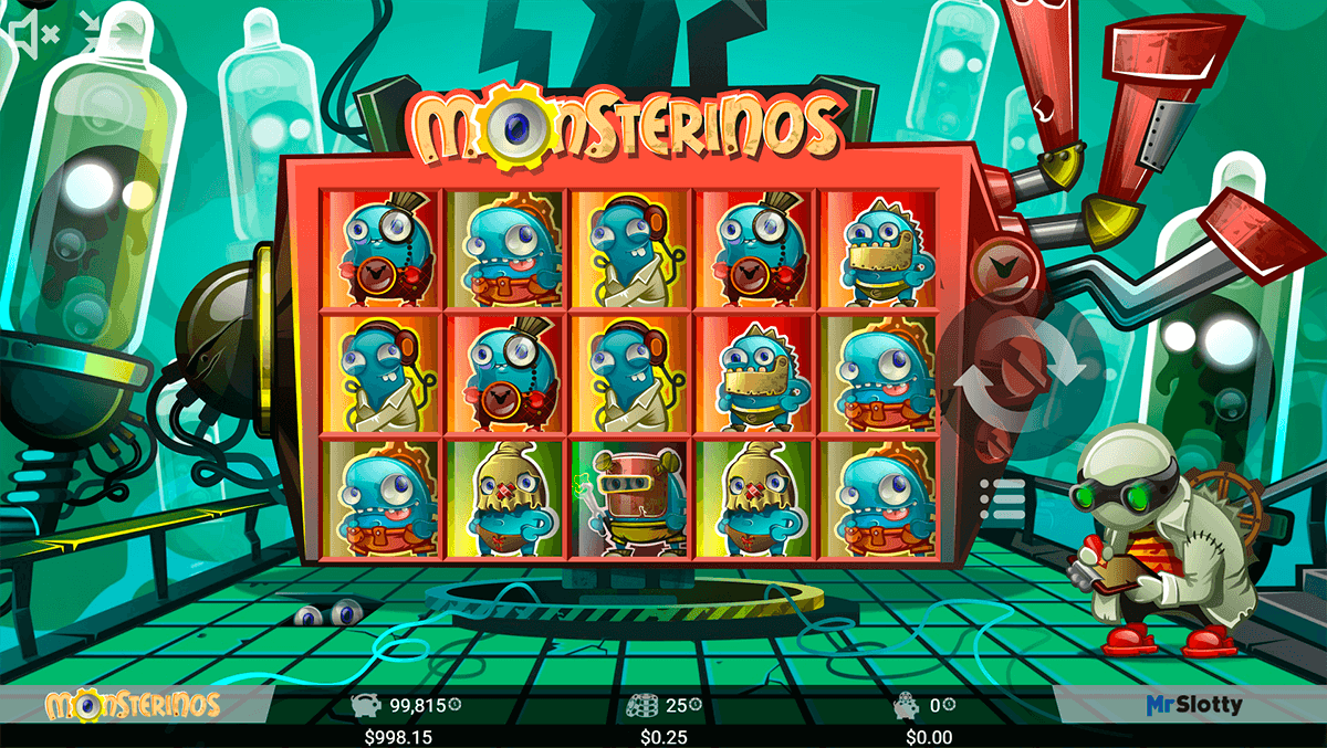 Monsterinos Slots - Play Online Video Slot Games for Free