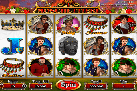 MUSKETEERS CAPECOD GAMING CASINO SLOTS