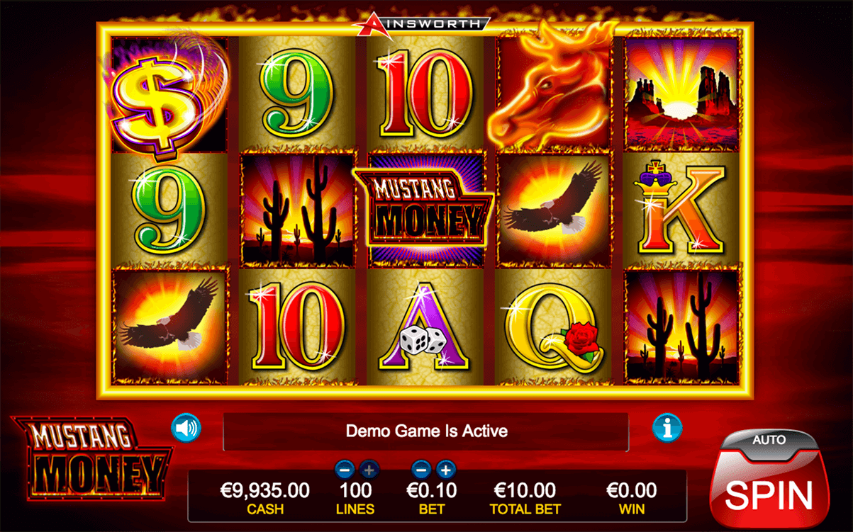 MUSTANG MONEY AINSWORTH CASINO SLOTS
