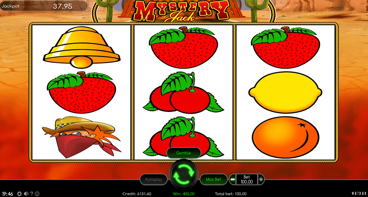 Mystery Jack™ Slot Machine Game to Play Free in Wazdans Online Casinos