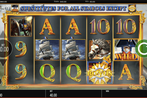 NAPOLEON BLUEPRINT CASINO SLOTS
