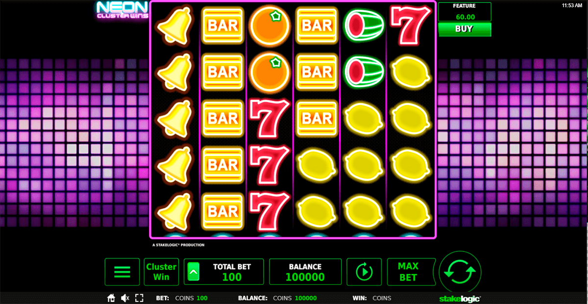 Spiele Neon Cluster Wins - Video Slots Online