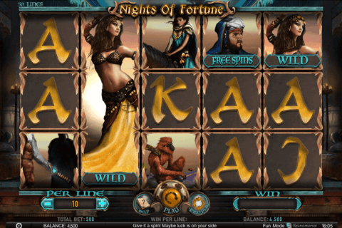 NIGHTS OF FORTUNE SPINOMENAL CASINO SLOTS