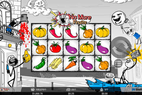 NO MORE FRUITS MRSLOTTY CASINO SLOTS