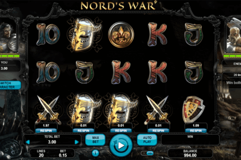 NORDS WAR BOOONGO CASINO SLOTS