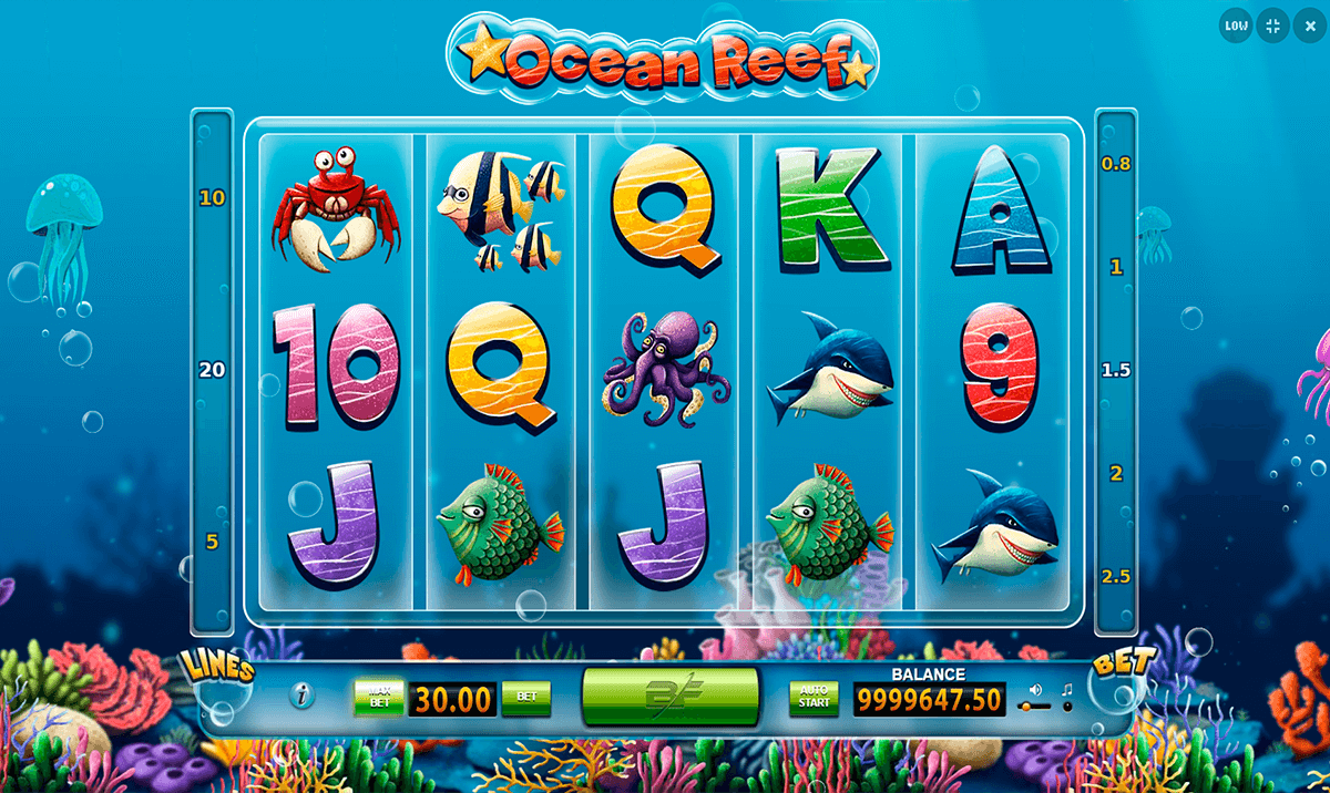 Reef Treasures Slot - Play the Online Slot for Free