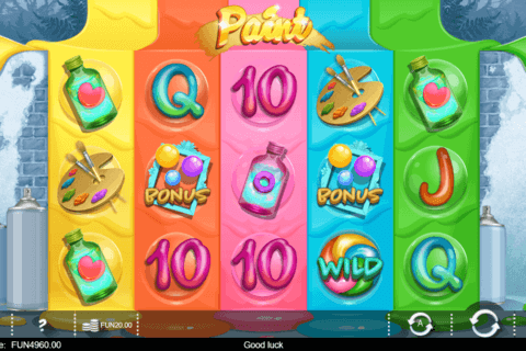 PAINT IRON DOG CASINO SLOTS