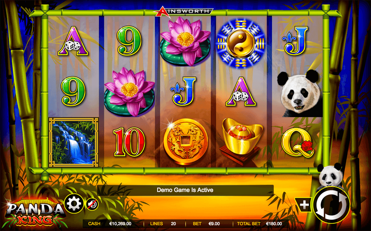 PANDA KING AINSWORTH CASINO SLOTS