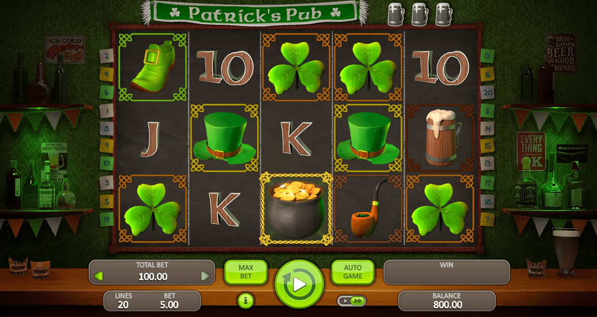 Spiele PatrickS Pub - Video Slots Online