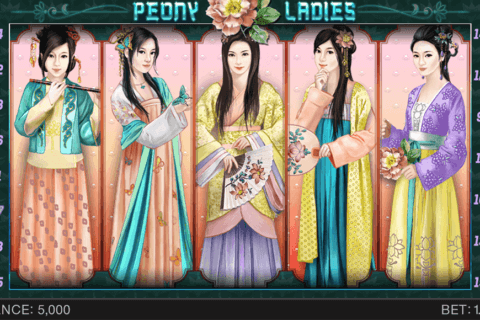 PEONY LADIES SPINOMENAL CASINO SLOTS