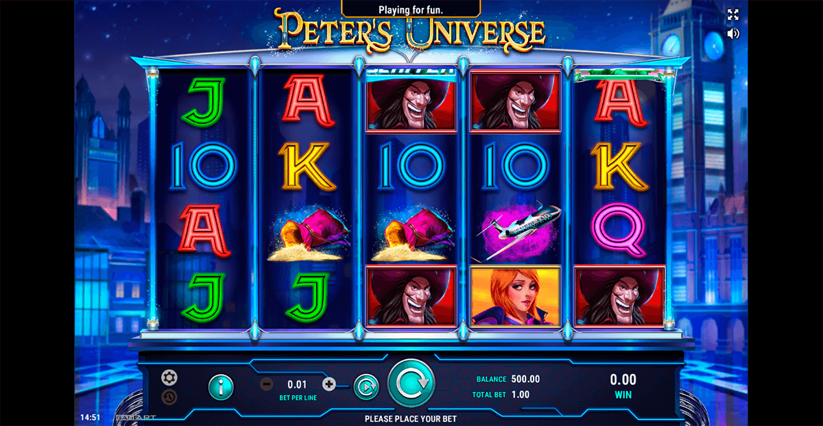 peters universe gameart casino slots