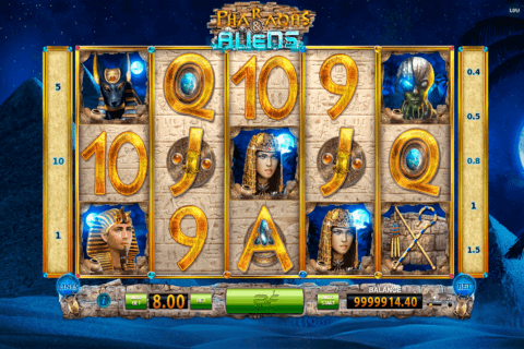 PHARAOHS AND ALIENS BF GAMES CASINO SLOTS