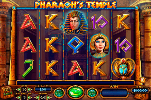 PHARAOHS TEMPLE FELIX GAMING CASINO SLOTS