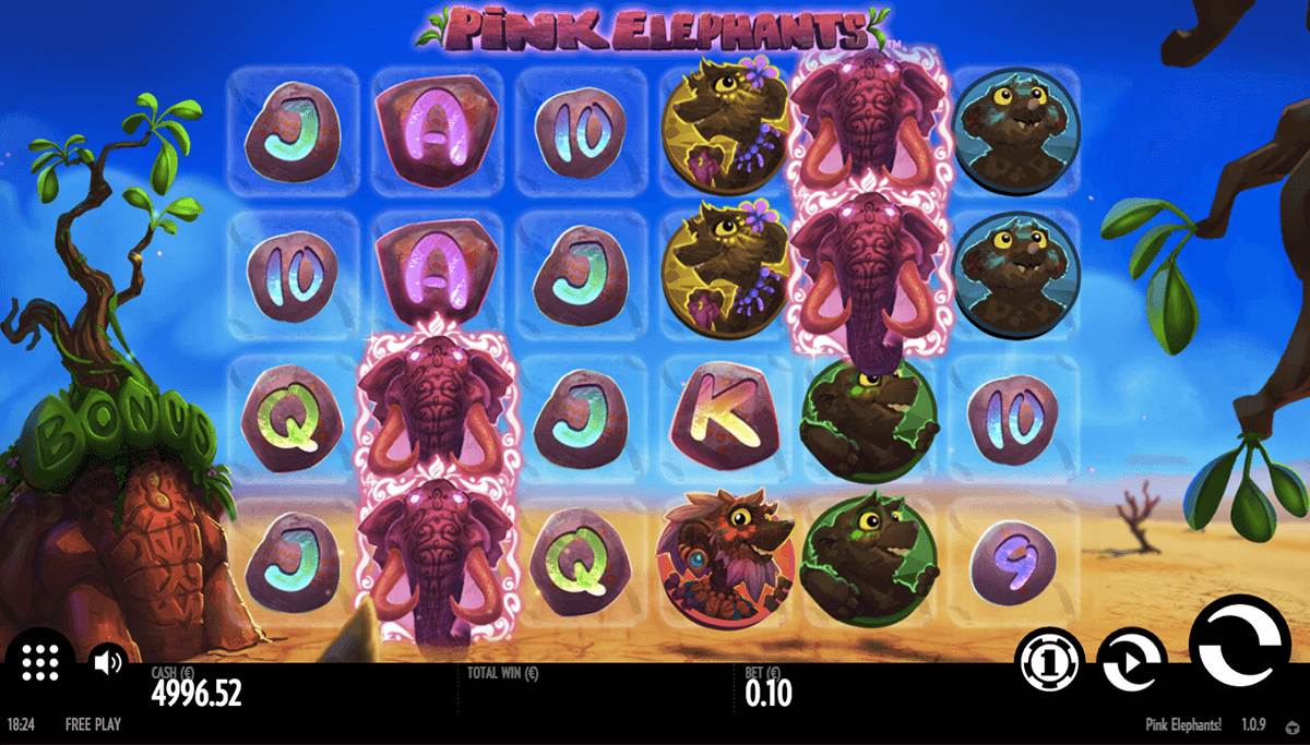 PINK ELEPHANTS THUNDERKICK CASINO SLOTS
