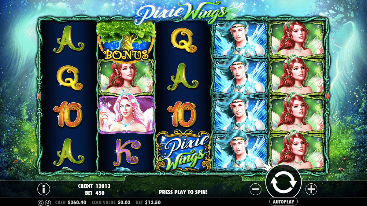 PIXIE WINGS PRAGMATIC CASINO SLOTS