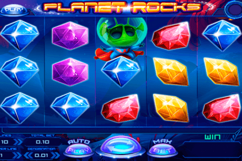PLANET ROCKS FELIX GAMING CASINO SLOTS
