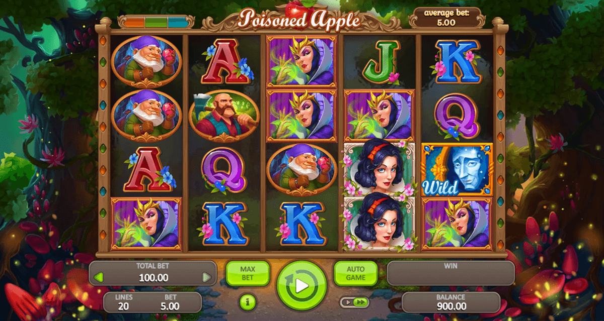 POISONED APPLE BOOONGO CASINO SLOTS