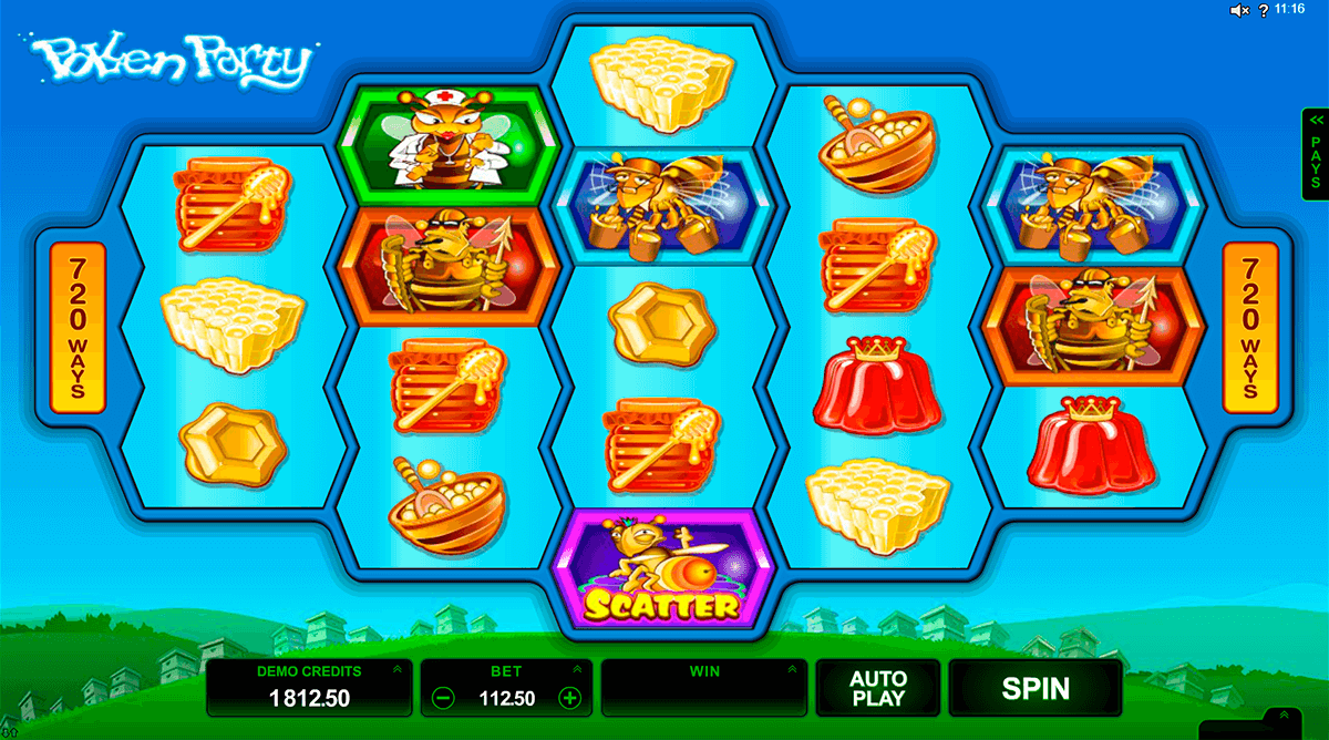 pollen party microgaming casino slots