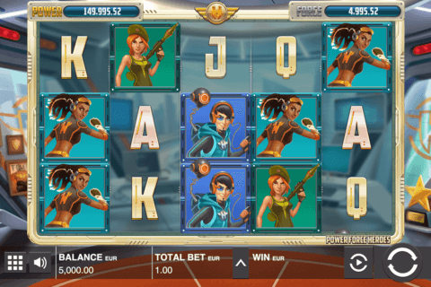 power force heroes push gaming casino slots