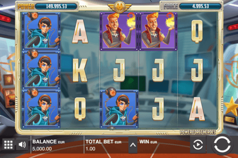 power force villains push gaming casino slots
