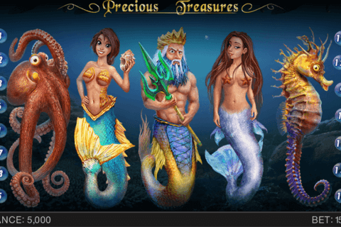precious treasures spinomenal casino slots