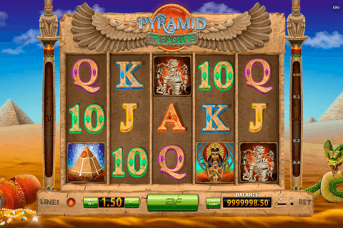 pyramid treasure bf games casino slots