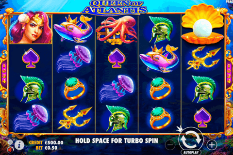 QUEEN OF ATLANTIS PRAGMATIC CASINO SLOTS